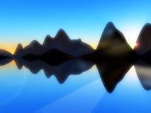 Остров 229 волны стоковые изображения rf