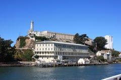 Остров Alcatraz - тюрьма Стоковая Фотография