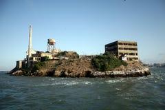 остров alcatraz Стоковые Изображения