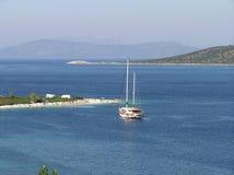 остров alonisos Стоковые Фото