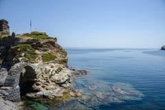остров andros Греции Стоковое Фото