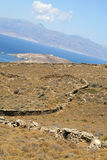 остров andros стоковые фотографии rf