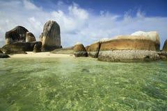 остров belitung Стоковая Фотография