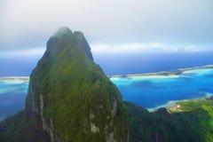 остров bora стоковое изображение