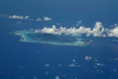 остров bora стоковая фотография rf