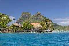 Остров Bora Bora - Французская Полинезия Стоковое Фото