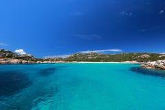 Остров Budelli Стоковое Изображение
