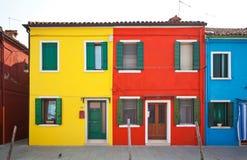 Остров Burano, Италия Стоковое Изображение
