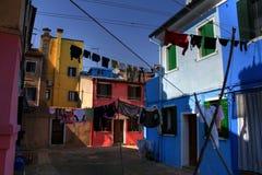 Остров Burano стоковое фото