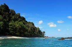 Остров Caño Стоковые Изображения RF