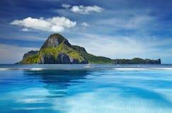 Остров Cadlao, El Nido, Филиппины Стоковая Фотография RF