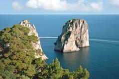 остров capri Стоковое фото RF