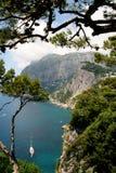 остров capri Стоковые Фотографии RF