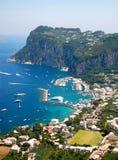остров capri Стоковое Изображение