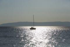 Остров Cres на Адриатическом море, Хорватии Стоковое фото RF