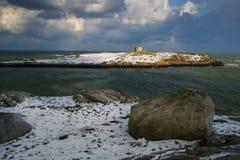 Остров Dalkey dublin Ирландия стоковые фотографии rf