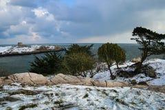 Остров Dalkey dublin Ирландия стоковые фото
