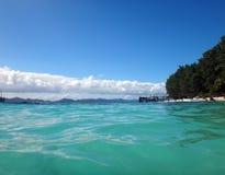 Остров Doini, Папуаая-Нов Гвинея стоковые изображения