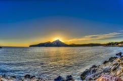 Остров Dragonera стоковые изображения rf