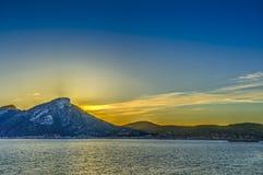 Остров Dragonera стоковые фотографии rf