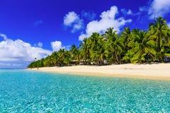 Остров Dravuni, Фиджи Стоковые Изображения RF