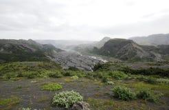 остров eyjafjallajokull Стоковые Изображения RF