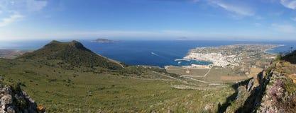 остров favignana стоковые фотографии rf