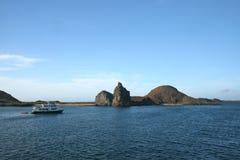 остров galapagos bartolome Стоковое Фото