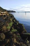 остров galiano Канады Стоковые Изображения