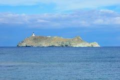 Остров Giraglia стоковое фото rf