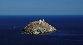 Остров Giraglia стоковое фото
