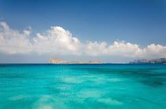 Остров Gramvousa, Греция Стоковые Изображения RF