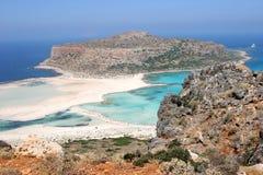 остров gramvousa Крита Стоковая Фотография