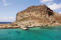 Остров Gramvousa Крит Греция стоковое фото
