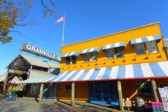 Остров Granville, Ванкувер, ДО РОЖДЕСТВА ХРИСТОВА, Канада Стоковая Фотография