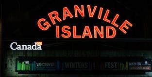 Остров Granville, Ванкувер, b C Стоковые Фото