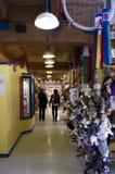 Остров Granville рынка детей Стоковая Фотография RF