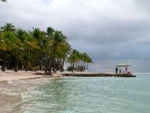 остров guadaloupe Стоковое фото RF