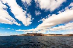 Остров Guadalupe, Мексика Стоковое фото RF
