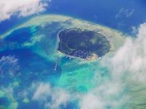 Остров Hatoma, Окинава Япония Стоковая Фотография