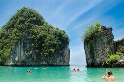 Остров Hong Стоковое Изображение
