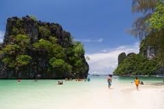 Остров Hong, Krabi, Таиланд Стоковое Фото