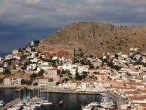 остров hydra Греции Стоковые Фото