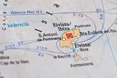 остров ibiza Стоковая Фотография