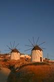 остров ios Греции Стоковое Изображение