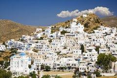 остров ios cyclades Греции Стоковое Изображение RF