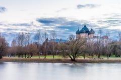 Остров Izmailovsky собор pokrovsky Стоковая Фотография