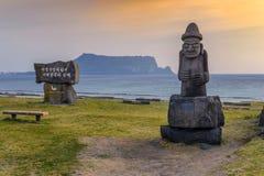 Остров Jeju, Южная Корея Стоковая Фотография