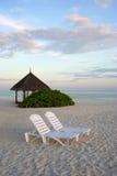 остров kani Мальдивы Стоковое Изображение RF
