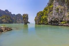 Остров Kao Phing Kan Стоковое Изображение RF